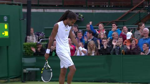 HSBC Perfect Play: Dustin Brown at Wimbledon 2013