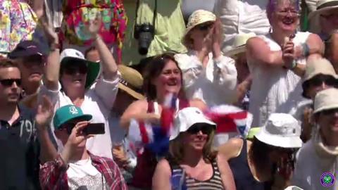 Andy Murray & Novak Djokovic walk to Centre Court
