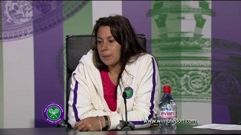 Marion Bartoli semi-final Wimbledon 2013 press conference