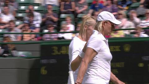 Wimbledon 2012 Day 13 Highlights: Lindsay Davenport & Martina Hingis v Martina Navratilova & Jana Novotna