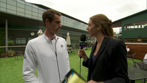 Andy Murray takes the Wimbledon quiz