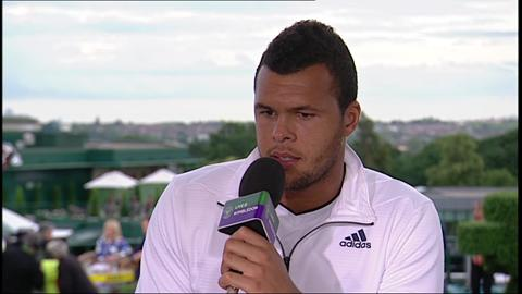 Wimbledon 2012: Jo-Wilfried Tsonga reaches semi-finals at The Championships