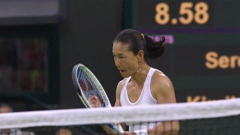 2013 Day 6 Highlights: Serena Williams v Kimiko Date-Krumm