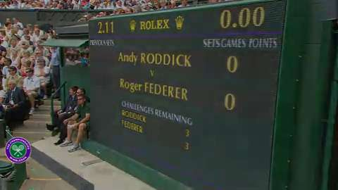2009 Golden Moment - Roger Federer beats Andy Roddick