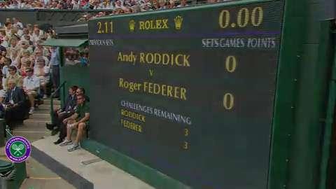 2009 Golden Moment - Roger Federer beats Andy Roddick