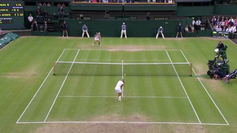 HSBC Play Of The Day: Sabine Lisicki saves unbelievable match point