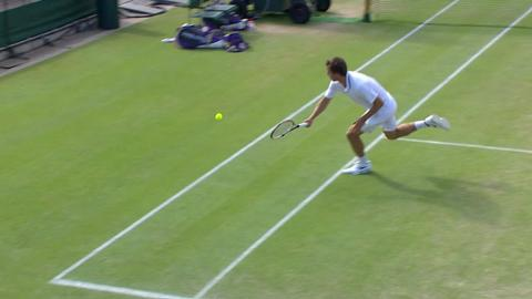 Wimbledon 2012 Day 11 Highlights