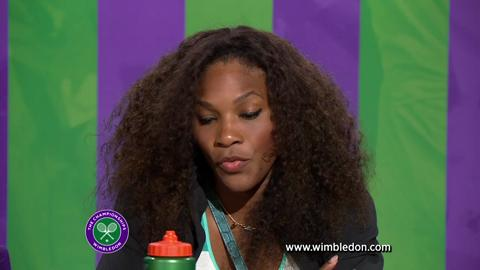 Wimbledon 2012: Serena Williams discusses semi-final match with media