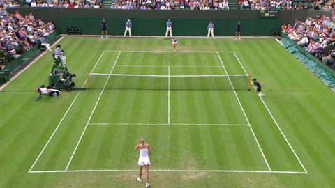 2013 Day 3 Highlights: Michelle Larcher De Brito v Maria Sharapova