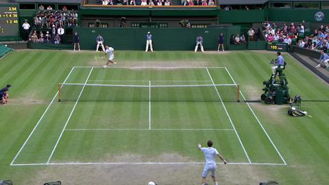 2013 Day 11 Highlights: Andy Murray v Jerzy Janowicz