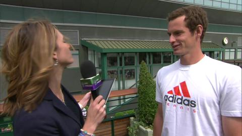Andy Murray is quizzed on his Wimbledon knowledge