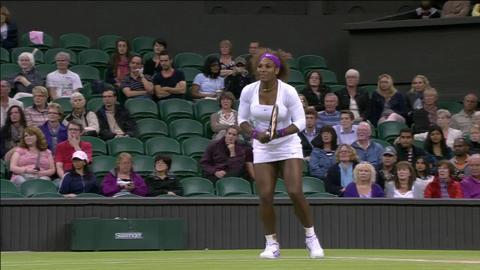 Wimbledon 2012 Day 12 Highlights: Serena Williams & Venus Williams v Andrea Hlavackova & Lucie Hradecka