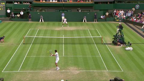 2013 Day 6 Highlights: Novak Djokovic v Jeremy Chardy