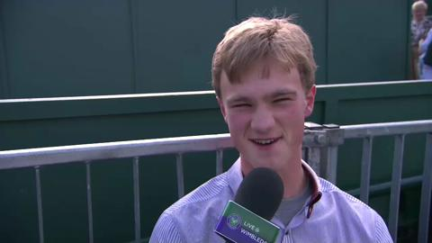Josh The Impressionist on Live @ Wimbledon