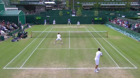 Wimbledon 2012 Day 11 Highlights: Jonathan Marray & Frederik Nielsen v Bob Bryan & Mike Bryan