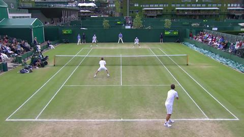 Wimbledon 2012 Day 11 Highlights: Jonathan Marray & Frederik Nielsen v Bob Bryan & Mike Bryan