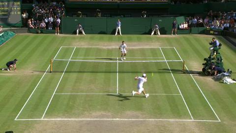 HSBC Perfect Play: Murray final at Wimbledon 2013