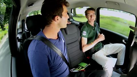 Horia Tecau takes a ride with Hertz and catches up with Live @ Wimbledon.