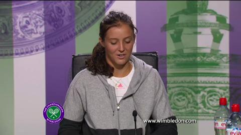 Laura Robson second round Wimbledon 2013 press conference