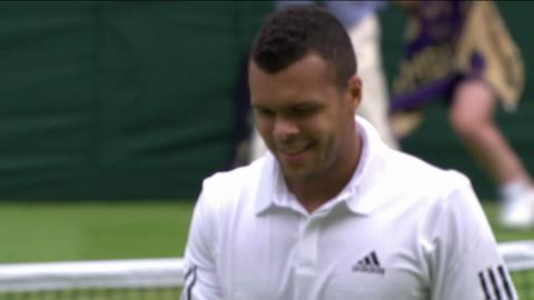 HSBC Perfect Play: Ernests Gulbis at Wimbledon 2013