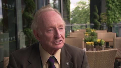Rod Laver on his Wimbledon memories