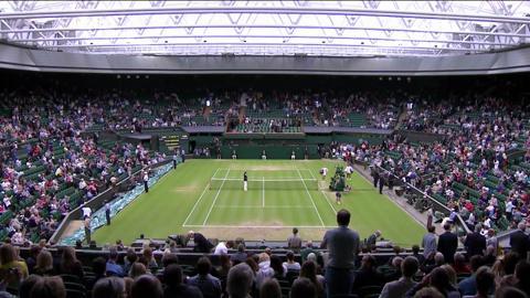 Wimbledon 2012 Day Eight Highlights
