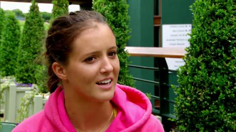 Championships Drive - Laura Robson