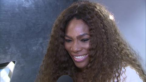 Serena Williams is quizzed on her Wimbledon knowledge