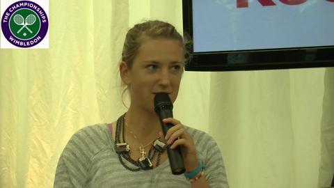 Victoria Azarenka tells us why Wimbledon is so special