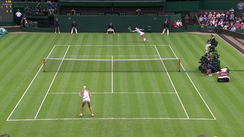2013 Day 1 Highlights: Maria Sharapova v Kristina Mladenovic