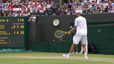 2013 Day 10 Highlights: Bryan/Bryan v Bopanna/Roger-Vasselin