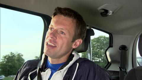 Daniel Nestor takes a ride with Hertz and catches up with Live @ Wimbledon