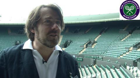 TV star Jonathan Ross talks Wimbledon, playing tennis & Roger Federer