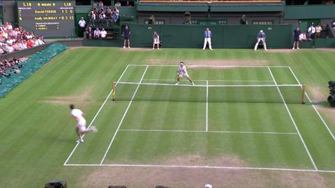 Wimbledon 2012 Day Nine Highlights: Andy Murray v David Ferrer