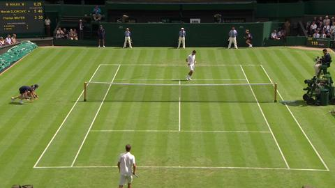 2013 Day 2 Highlights: Novak Djokovic v Florian Mayer
