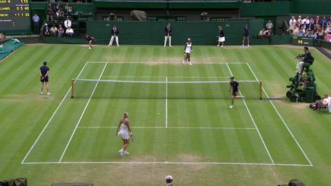 2013 Day 7 Highlights: Serena Williams v Sabine Lisicki