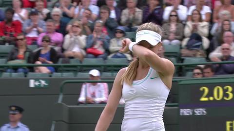 Wimbledon 2012 Day 12 Highlights: Elina Svitolina v Eugenie Bouchard