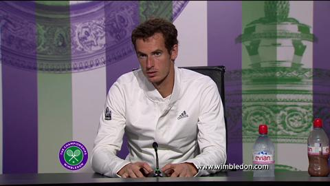 Andy Murray on semi-final win at Wimbledon 2013