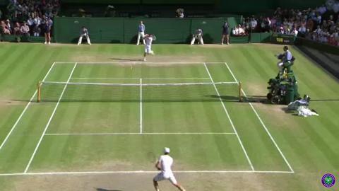 Andy Murray wins Wimbledon 2013 - the final game