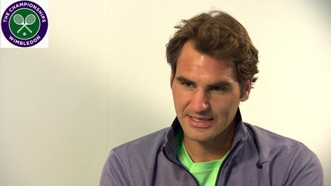 Roger Federer re-lives his Wimbledon memories