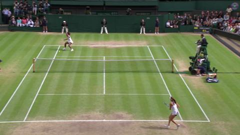 Wimbledon 2012 Day 12 Highlights: Serena Williams v Agnieszka Radwanska