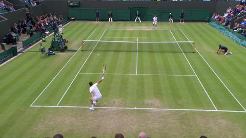 Wimbledon 2013 Day 5 Highlights
