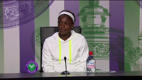 Sloane Stephens quarter-final Wimbledon 2013 press conference