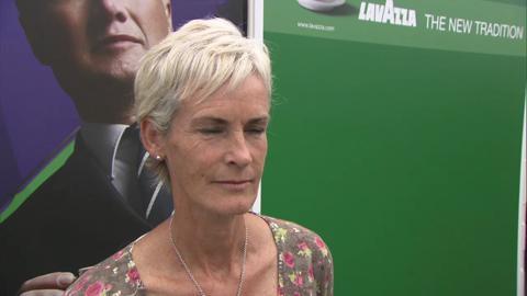 Judy Murray talks to Live @ Wimbledon