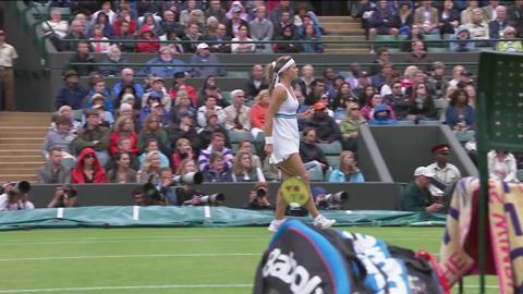 Wimbledon 2012 Day Eight Highlights: Agnieszka Radwanska v Maria Kirilenko