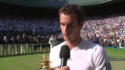 Andy Murray's Championship Winning Speech