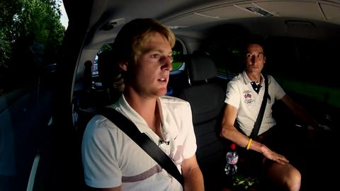 Rising star Luke Saville takes a ride with Hertz and catches up with Live @ Wimbledon