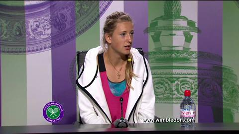 Victoria Azarenka first round Wimbledon press conference