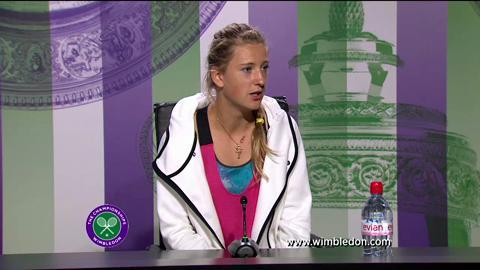 Victoria Azarenka first round Wimbledon press conference