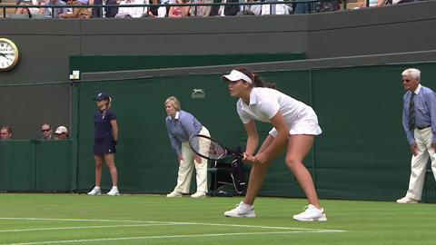 2013 Day 2 Highlights: Maria Kirilenko v Laura Robson